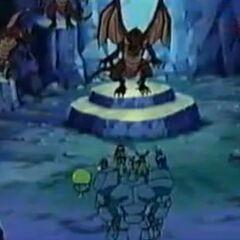 Genki und seine Freunde bitten Falke um seine Hilfe.
