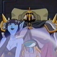 Lilim ist begeistet, dass Moo mit dem Mirakelstein das stärkste Mosnter der Welt wird.