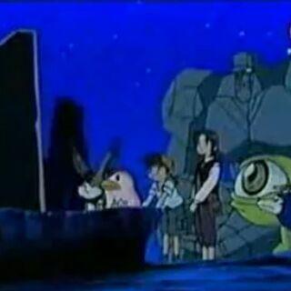 Monol erzählt Genki und seinen Freunden die Geschichte der Uralten.