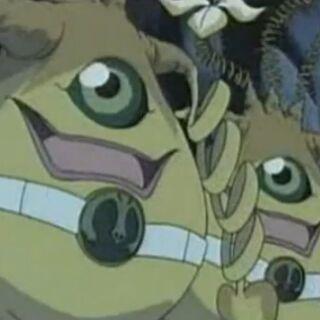 Die Zwiebelmonster bewachen den Eingang der Gefangeren.