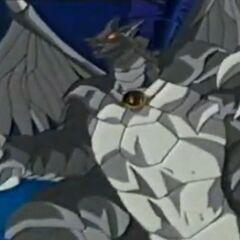 Felsen-Drache will sich um Genki und seine Freunde kümmern