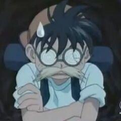 Genki verkleidet sich damit die Zwiebelmonster ihm folgen.