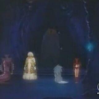 Moo beflieht den Fiesen Vier die Gruppe die nach dem Phoenix sucht zu besiegen.