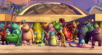 Monsters Inc Employees