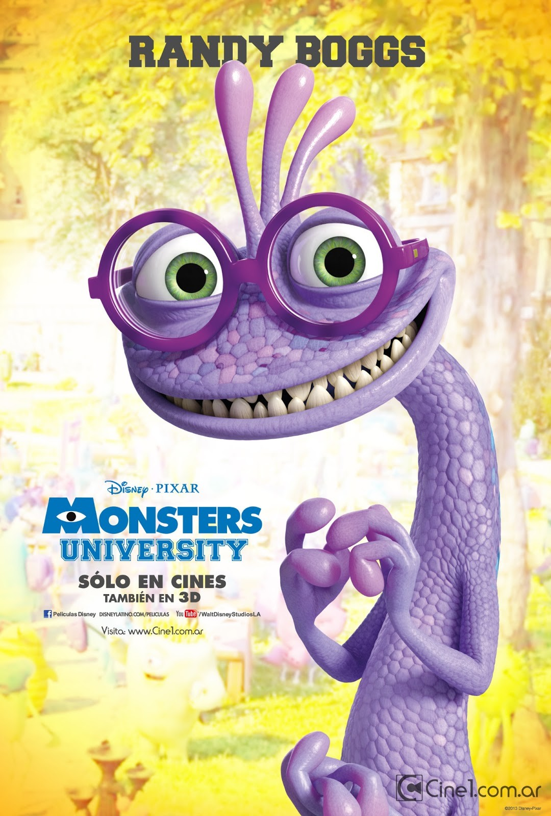 Randall boggs monsters inc wiki fandom powered by wikia monsters inc2 208490 voltagebd Choice Image