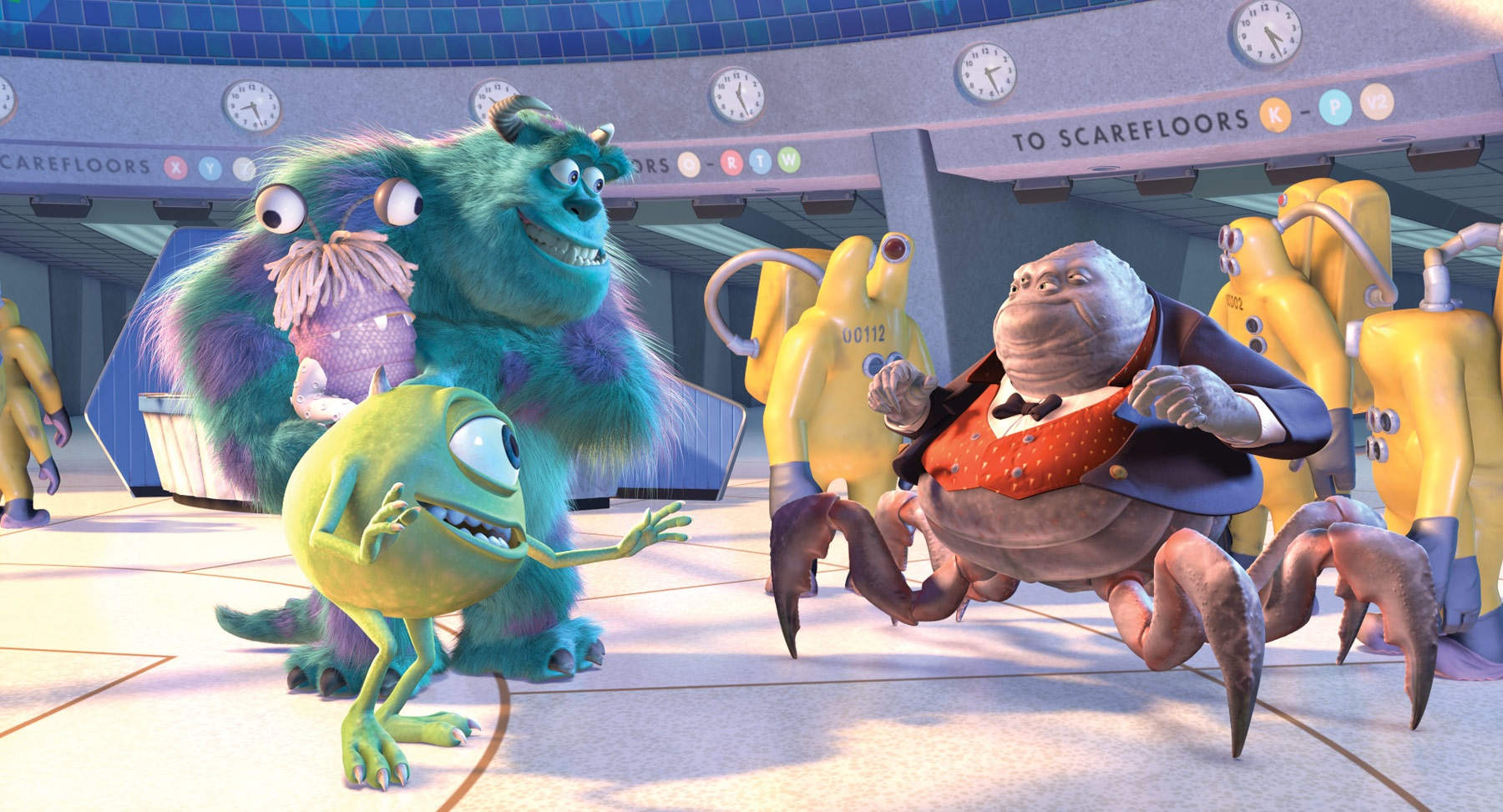 Mike, Sulley, Henry Waternoose, And The CDA.jpg