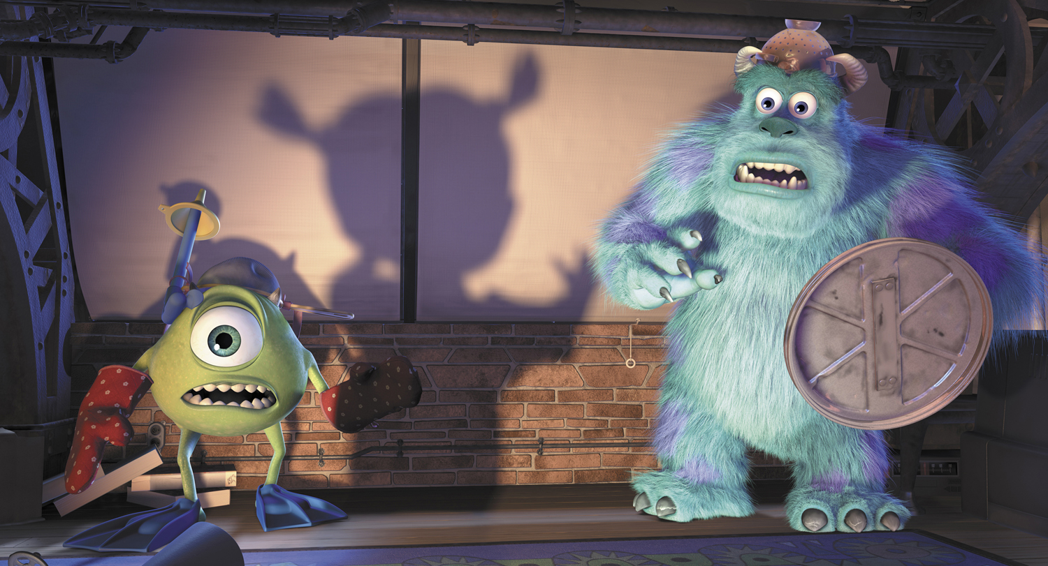 Uncategorized Sulley Mike And Boo image monsters inc mike sulley boo shadow jpg jpg