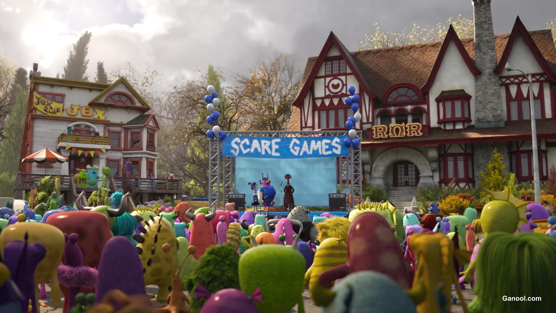 Image result for monsters university scare games