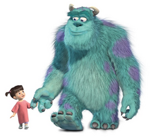 Sulley and boo