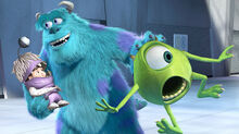 Boo Real Name Mary Gibbs Is The Tritagonist Of Monsters Inc She Sulleys Human Best Friend