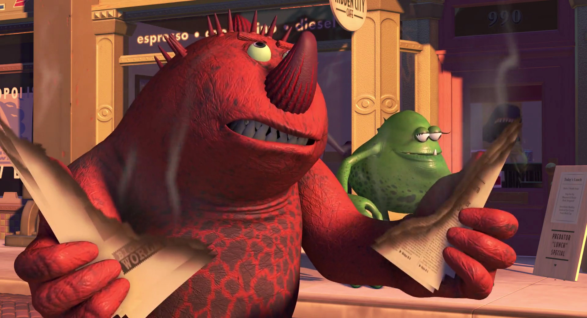 Sneezing Monster | Monsters, Inc  Wiki | FANDOM powered by Wikia