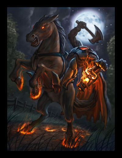 Headless horseman monsterspedia wiki fandom powered by wikia - Pictures of the headless horseman ...