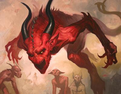 Tyrannical devil by lucasgraciano-d5agjlm