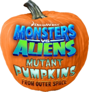 Monsters vs. Aliens Mutant Pumpkins from Outer Space logo