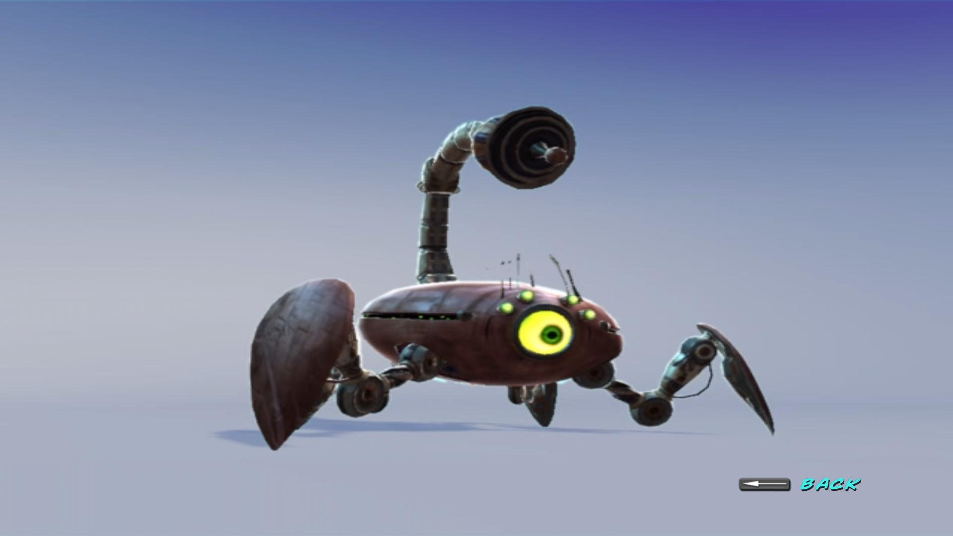 Alien Scorpion Robot Monsters Vs Aliens Wiki Fandom