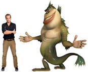 The Missing Link and Will Arnett