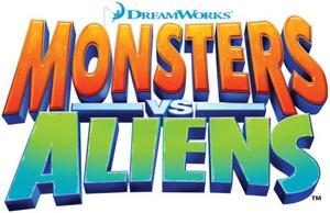 Monsters vs. Aliens logo