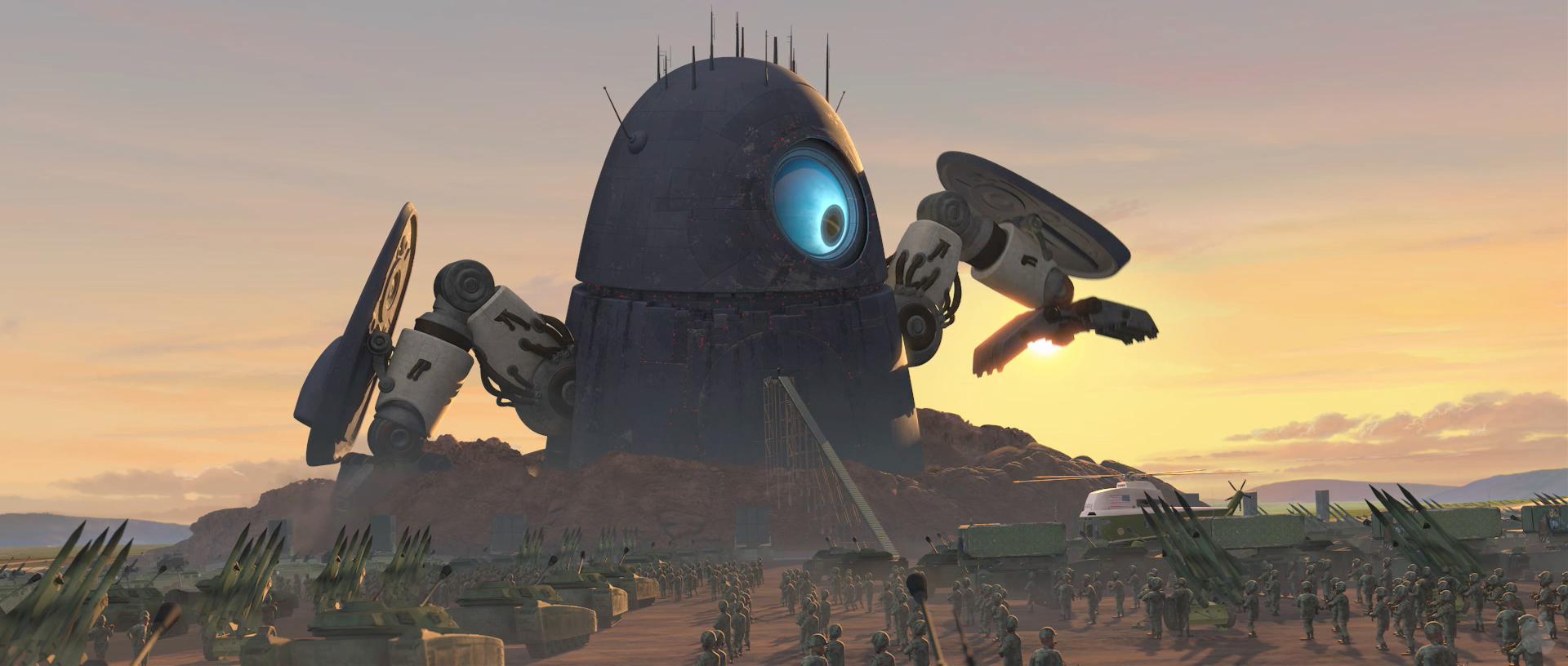 Robot probes | Monsters vs. Aliens Wiki | FANDOM powered by Wikia