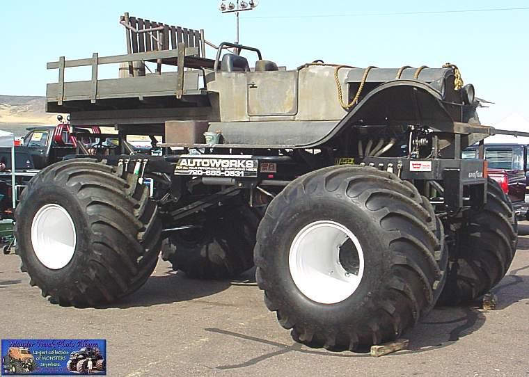 Old hillbilly truck going down gatlinburg strip ...from the ...