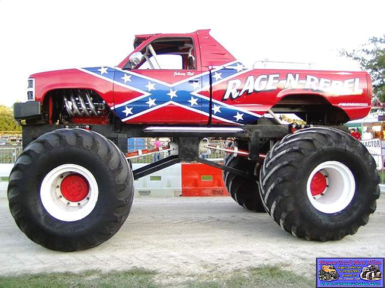 Chevy Rebel Flag Truck 68810 Loadtve