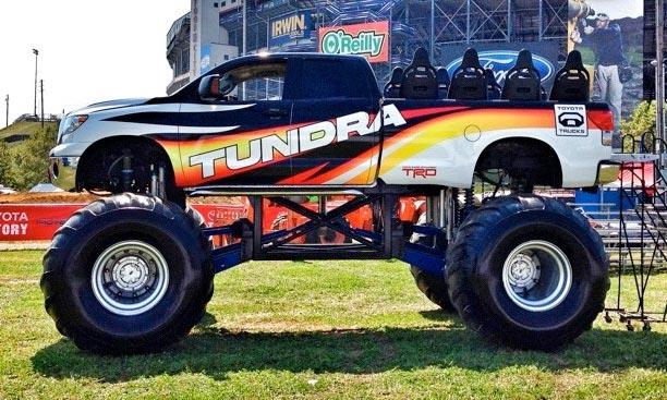 News Toyota Trd Rock Warrior Monster Truck Tundra