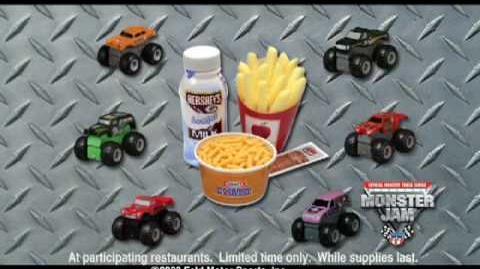 Monster Jam - Monster Trucks At Burger King all through January