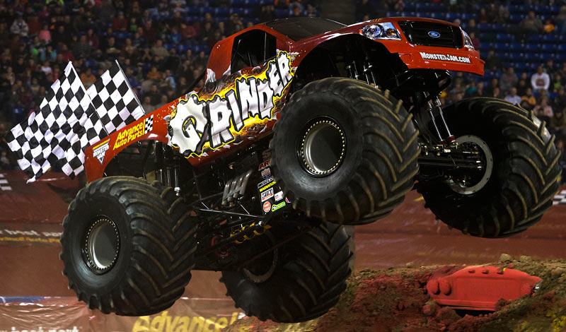 Advance Auto Parts Grinder | Monster Trucks Wiki | FANDOM