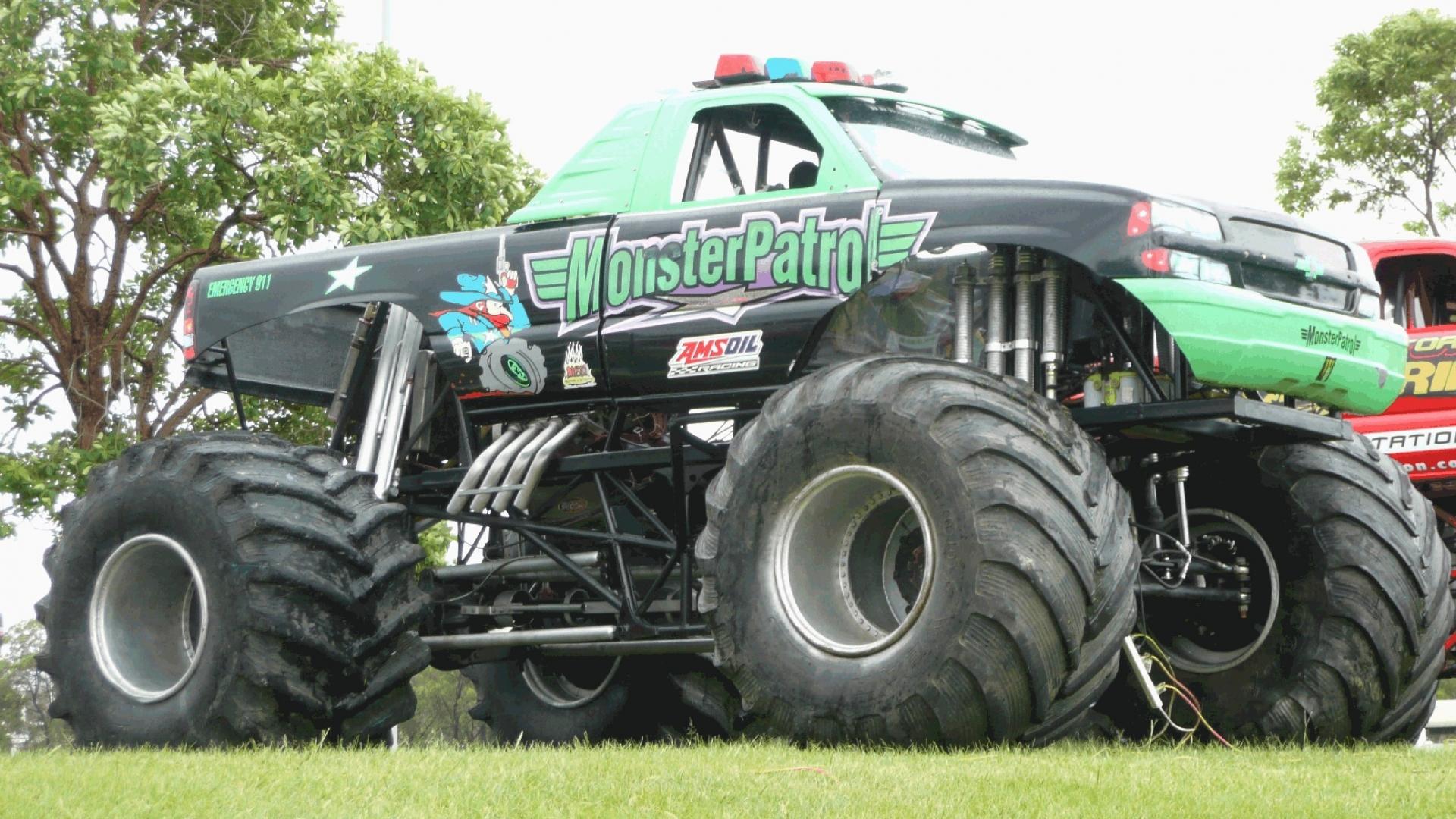Monster Truck Racing 1920x1080 Wallpapers