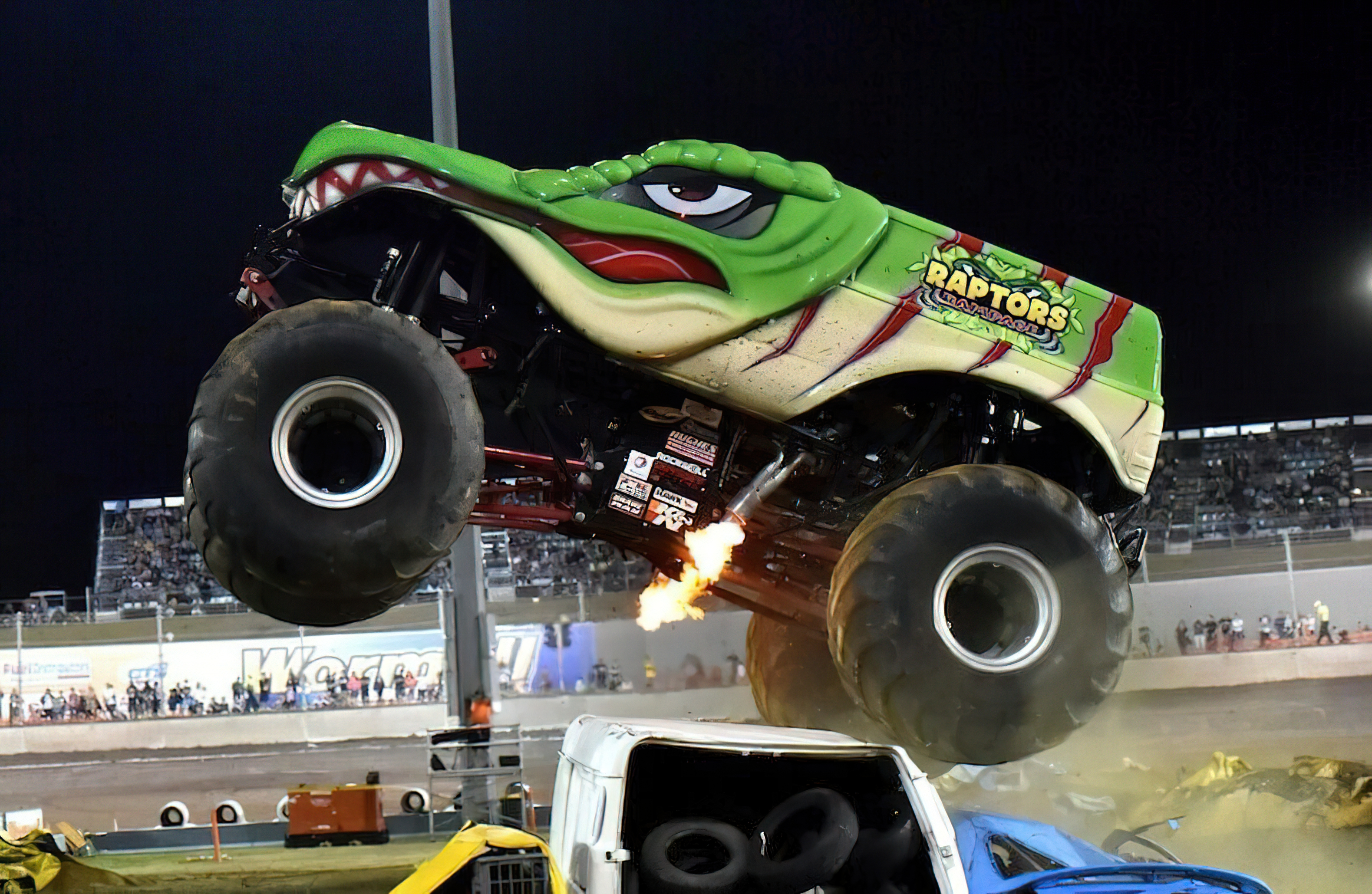 Raptor's Rampage   Monster Trucks Wiki   Fandom
