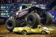Metal Mulisha crushes a car