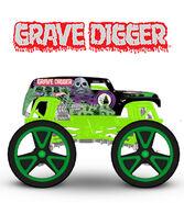 2015 164 gravedigger green