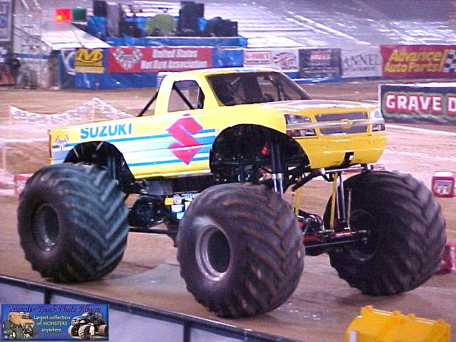 Image result for Team Suzuki monster truck 2004