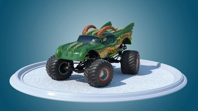Hot Wheels - Monster Truck 360
