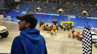 Bloominton, Illinois Hot Wheels Monster truck show Big Bummer!