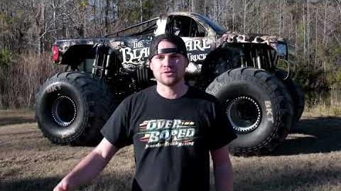 Monster Jam - Cole Venard - Black Pearl Monster Truck