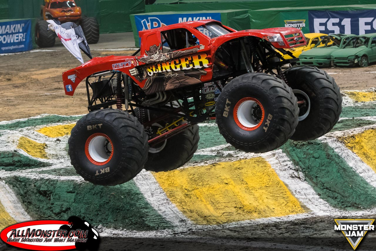 Image result for slinger monster truck