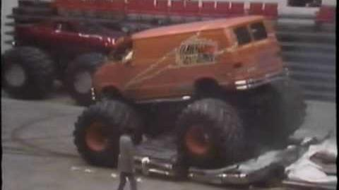 VINTAGE MONSTER TRUCK RACING. 1980's