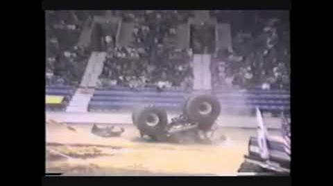 Monster Truck Driver Dies, but Gets Revived!
