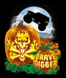Grave Digger Halloween Edition | Monster Trucks Wiki ...