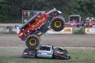 Krazy Train jumps cars