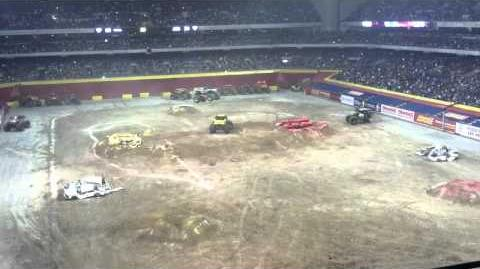 Monster Jam 2012 - San Antonio, TX - Monster Energy & Wolverine Dual Freestyle
