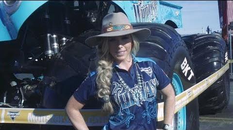 Brianna Mahon Reveals the New Whiplash Monster Jam Truck