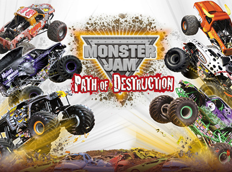 Monster Jam Path Of Destruction Wallpaper 10