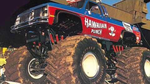 Hawaiian Punch Monster Truck