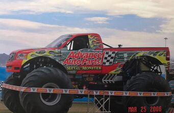 Advance Auto Parts Metal Monster | Monster Trucks Wiki