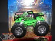 Green ghost grave digger hot wheels toy