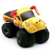 Yellow El Toro Loco puff truck