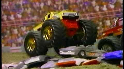 Tuff Trax Monster Truck toys from Galoob commerical