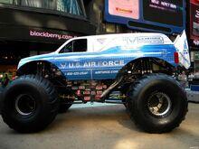 Afterburner-Rakasa-Truck-Bigfoot-Mobil-Art-Print-Poster-Besar-TXHOME-D4522