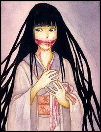 Kuchisake onna by Shinanai